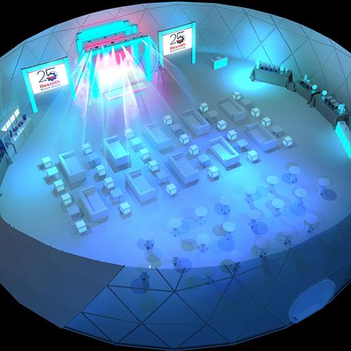 scenografia wizualizacje eventy events 3d