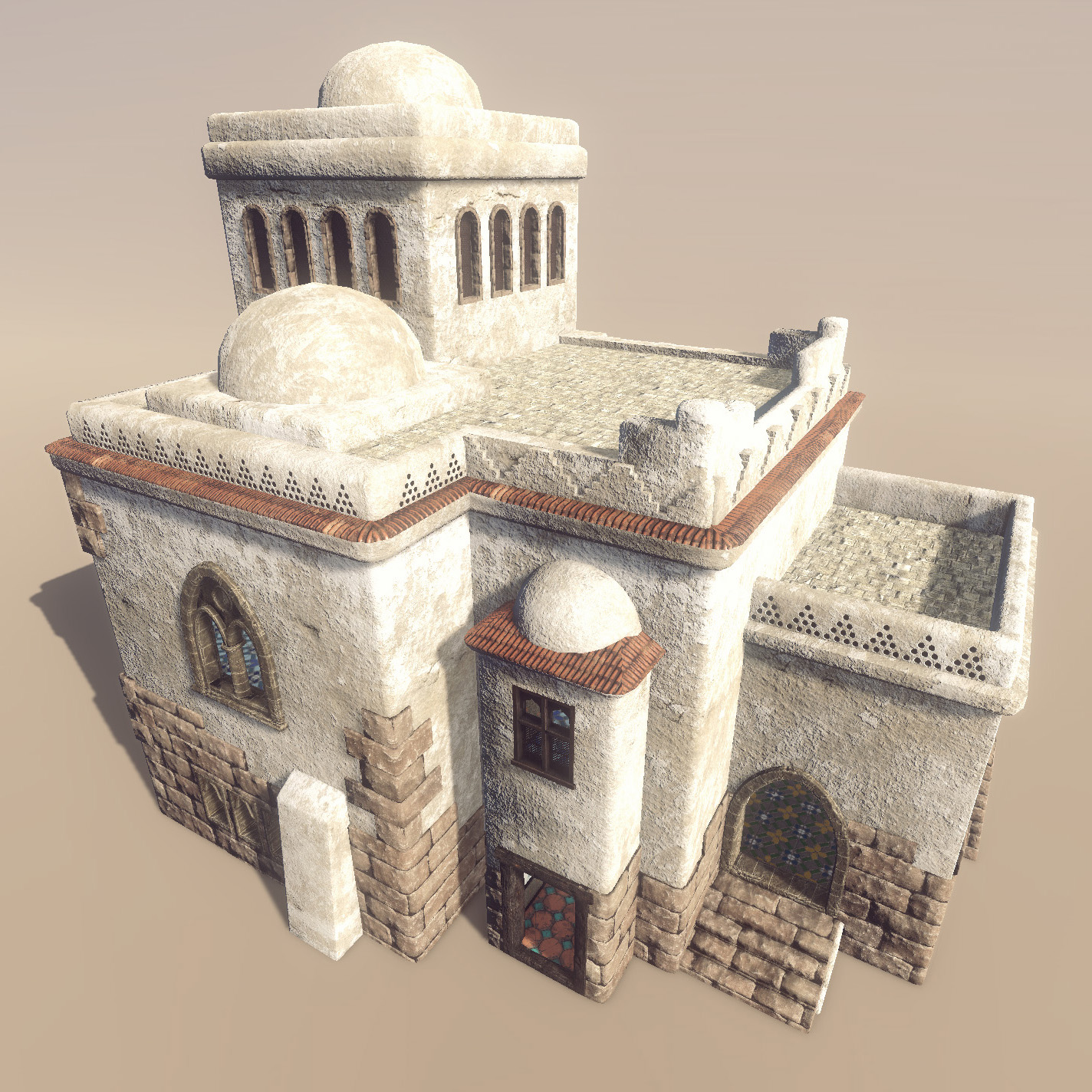 medieval house arabic 3d model