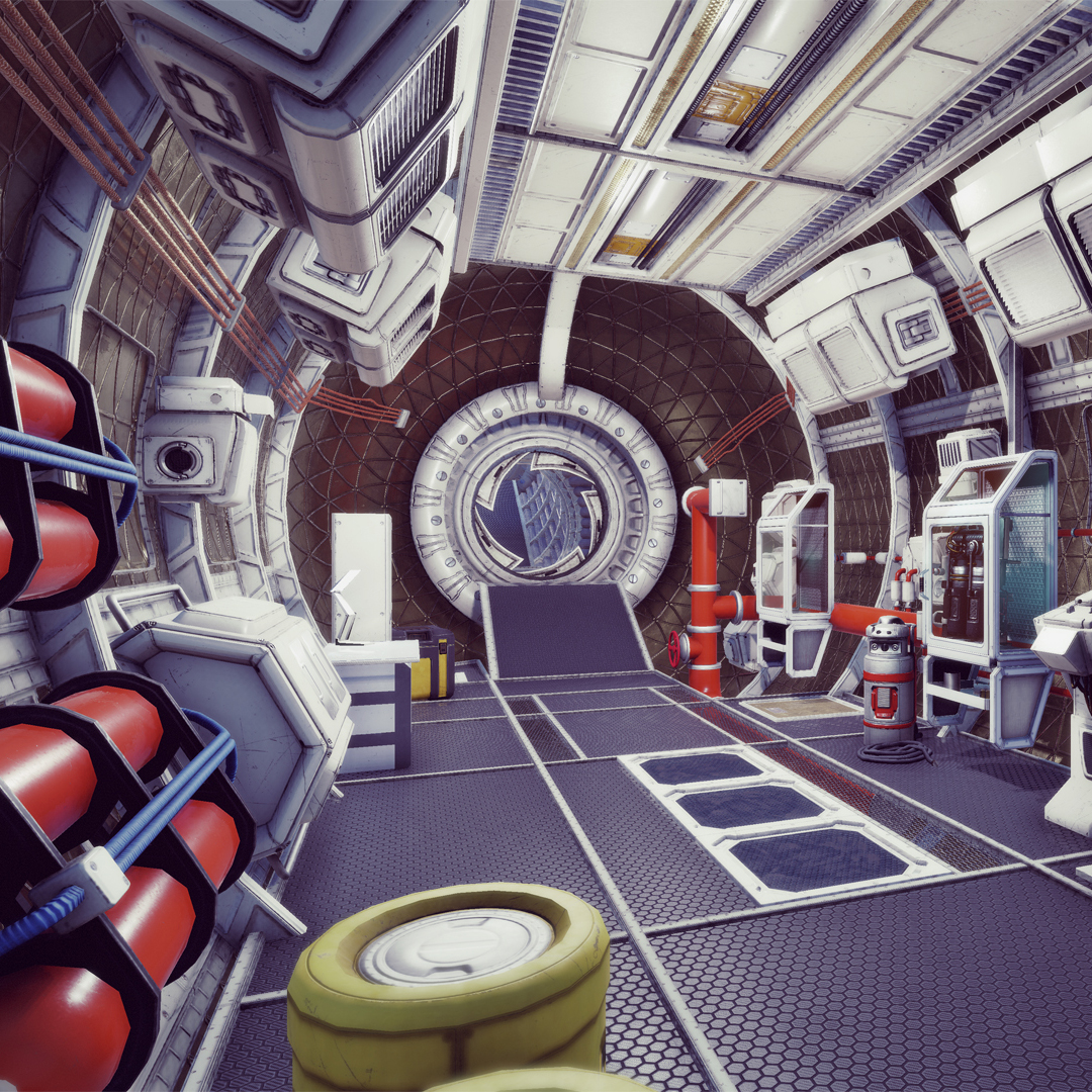 mars, 3d model, unity game asset sci-fi